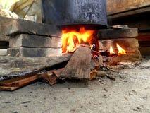 Horno tradicional del ladrillo Fotografía de archivo libre de regalías