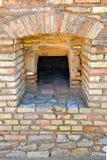 Horno viejo del pan, sitio arqueológico de la ciudad romana de Italica, Andalucía, España Imagen de archivo libre de regalías