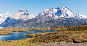 Horns of Towers of the Paine, Patagonia, Chile. Royalty Free Stock Image