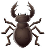 Horny bug Stock Image