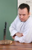 Horor chef Stock Photo