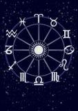 Horoscoop Vector Illustratie