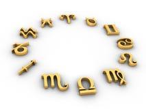 Horoscoop Royalty-vrije Stock Foto's