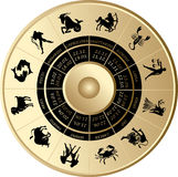 Horoscoop Stock Foto's
