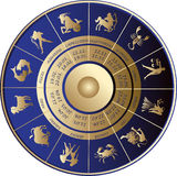 Horoscoop Royalty-vrije Stock Fotografie