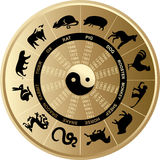Horoscoop Chinees Royalty-vrije Stock Afbeelding