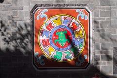 Horoscoop - Chinese dierenriemtekens stock afbeeldingen