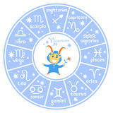 Horoscop标志02 图库摄影