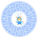 Horoscop signs-06 Stock Image