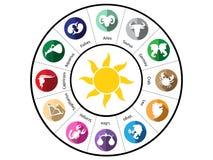 horoscope Fotografia Stock Libera da Diritti