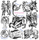 Horoscope vector illustration