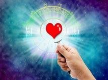 horoscope stock fotografie