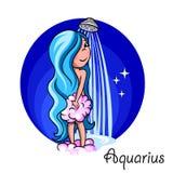 horoscope Royalty-vrije Stock Afbeeldingen
