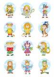 horoscope stock de ilustración
