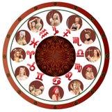 Horoscope. All twelve Zodiac Signs. All twelve Zodiac Signs. Astrology and horoscope concept stock illustration