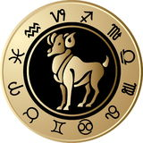 Horoscope Aries Stock Photo