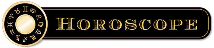 Horoscope Banner Stock Photography