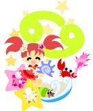 Horoscope ~Cancer~ Royalty Free Stock Images