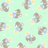 Horoscope capricorn background. Vector graphic illustration design art Royalty Free Stock Images