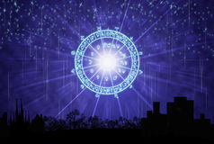 The horoscope concept Royalty Free Stock Image