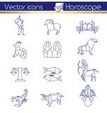 Horoscope d'origami Photo stock