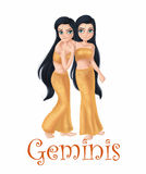 Horoscope Geminis Stock Photography