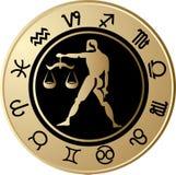 Horoscope Libra royalty free illustration