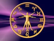 Horoscope, o zodíaco. ilustração royalty free