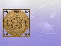 Horoscope, Poissons. Image libre de droits