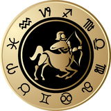 Horoscope Sagittarius Stock Photos
