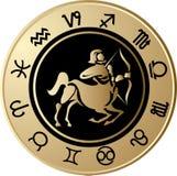 Horoscope Sagittarius Stock Photos
