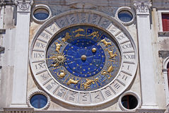 Horoscope on san marco dome in venice. Horoscope on san marco dome in venezia stock images
