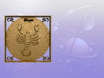 Horoscope, Scorpion Photos libres de droits