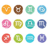 Horoscope set Royalty Free Stock Image
