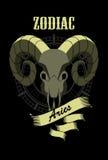 Horoscope sign Aries Royalty Free Stock Photo