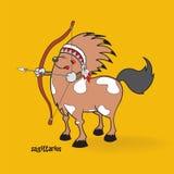 Horoscope sign,Sagittarius Royalty Free Stock Images