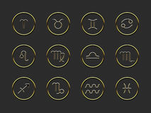 Horoscope signs Royalty Free Stock Images