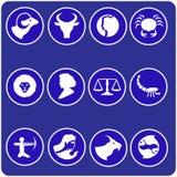 Horoscope symbols Royalty Free Stock Images