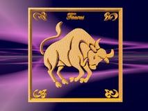 Horoscope, Taurus. Royalty Free Stock Image