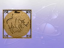 Horoscope, Taurus. Royalty Free Stock Images