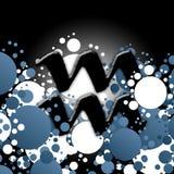 Horoscope, Verseau [01] Image stock