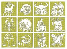 Horoscope - zodiac Royalty Free Stock Photography