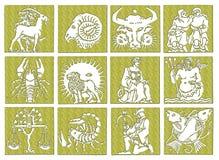Horoscope - zodiac royalty free stock photography
