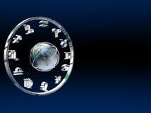 Horoscope, the zodiac. Stock Images