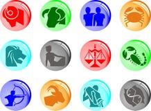 Horoscope zodiac illustration -  Stock Photography