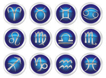 Horoscope zodiac signs. 12 horoscope zodiac signs Royalty Free Illustration
