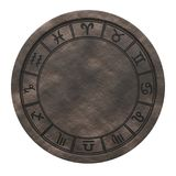 Horoscope zodiac signs cycle. 3D rendering. On white background Stock Images