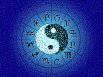 Horoscope zodiac signs Stock Photo