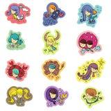 Horoskop Stockbilder