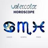 horoskop Lizenzfreies Stockbild